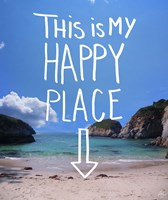 This Is My Happy Place Fine Art Print