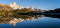 Mt Fitzroy Reflections, Laguna Capri, Argentina Fine Art Print