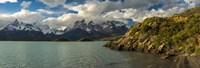 Lake Pehoe, Torres de Paine National Park, Patagonia, Chile Fine Art Print