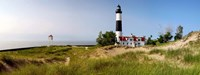 Big Sable Point Lighthouse, Lake Michigan Fine Art Print