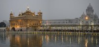 Golden Temple at Dusk, Amritsar, India Fine Art Print