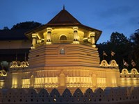 Temple of the Sacred Tooth Relic, Kandy, Sri Lanka Fine Art Print