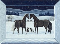 Silent Night- December Fine Art Print