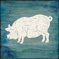 Farm Pig Fine Art Print