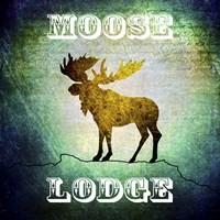 Lodge Moose Lodge Fine Art Print