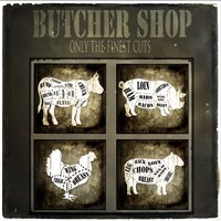 Butcher Shop V Framed Print