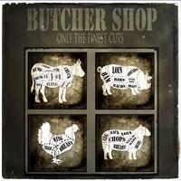 Butcher Shop V Framed Print