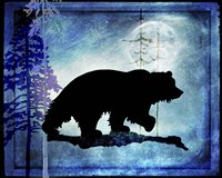 Midnight Bear Fine Art Print