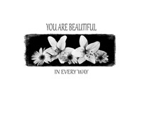 You Are Beautiful Fine Art Print