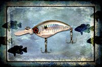 Fishing - Big Mouth Lure Fine Art Print