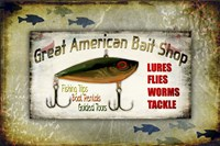 Fishing - Bait Shop Fine Art Print