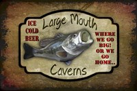 Large Mouth Cavern II Fine Art Print
