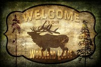 Welcome - Lodge Elk Fine Art Print