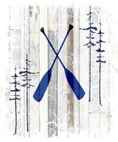 The Blue Moose - Oars Fine Art Print