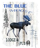 The Blue Moose Fine Art Print