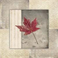 Lodge Leaf Tile 1 Fine Art Print