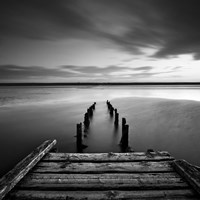 Dorset Jetty Fine Art Print
