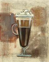 Cafe Classico I Neutral Fine Art Print