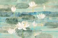 Water Lilies Bright Fine Art Print