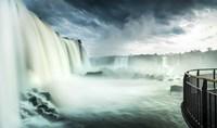 Devil's Throat Falls, Iguacu Falls, Brazil Fine Art Print