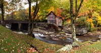 Glade Creek Grist Mill, West Virginia Fine Art Print