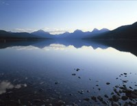 Lake McDonald and the Rocky Mountains, Montana Fine Art Print