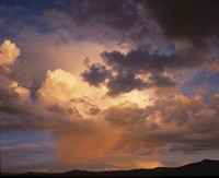Rain and Storm Clouds over Colorado Fine Art Print