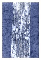 Indigo Primitive Patterns VI Fine Art Print