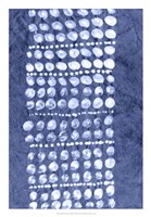 Indigo Primitive Patterns VIII Fine Art Print