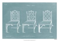 Design for a Chair I Fine Art Print