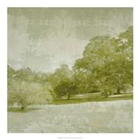 Beryl Landscape  I Framed Print