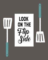 Retro Kitchen II - Look On The Flip Side Fine Art Print