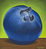 Blueberry Pi Fine Art Print