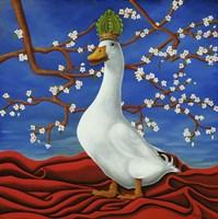 Peking Duck (Pea King Duck) Fine Art Print
