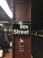Sex Street Fine Art Print