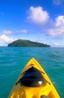 Kayak, Kadavu, Fiji Fine Art Print
