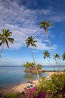 Warwick Fiji Resort and Spa, Viti Levu, Fiji Fine Art Print