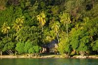 Bure, Likuliku Lagoon Resort, Malolo Island, Mamanucas, Fiji Fine Art Print