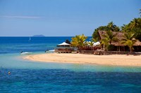 Castaway Island Resort, Qalito Island, Fiji Fine Art Print