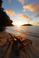 Likuliku Lagoon Resort, Malolo Island, Mamanucas, Fiji Fine Art Print