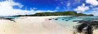 Beach at Yasawa Island Resort Spa, Yasawa Islands, Fiji Fine Art Print