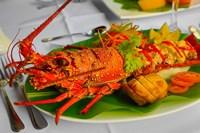 Lobster Dish, Fiji Fine Art Print