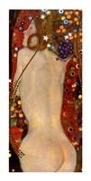 Water Serpents II (detail of woman 3), 1907 by Gustav Klimt, 1907 - various sizes