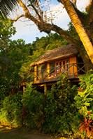 Villa at Matangi Private Island Resort, Fiji Fine Art Print