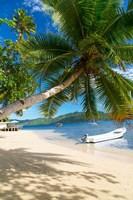 Sandy Beach, Matangi Private Island Resort, Fiji Fine Art Print
