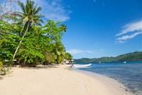Matangi Private Island Resort Beach, Fiji Fine Art Print