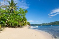 Matangi Private Island Resort Beach, Fiji Fine Art Print