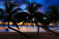 Sunset at Matangi Private Island Resort, Fiji Fine Art Print