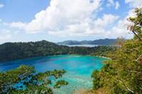 Bay, Matangi Private Island Resort, Fiji Fine Art Print