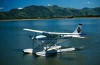 Floatplane, Nadi Bay, Fiji Fine Art Print